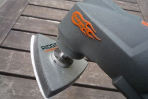 Sanding is one of the many features of the oscillating multi-tool