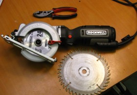 Rockwell 4 1/2 inch Compact Circular Saw – Portability combined with high performance